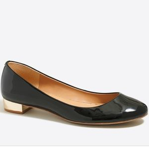 J Crew lilli metalic pantent leather 8